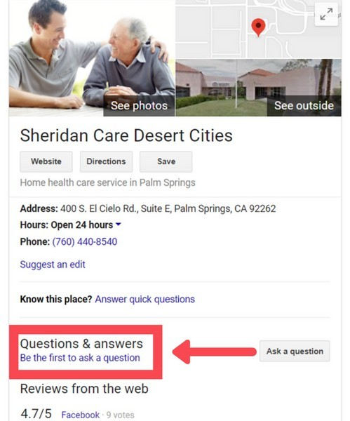 Google My Business Questions & Answers