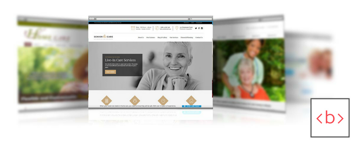 Home Care Agency Web Design