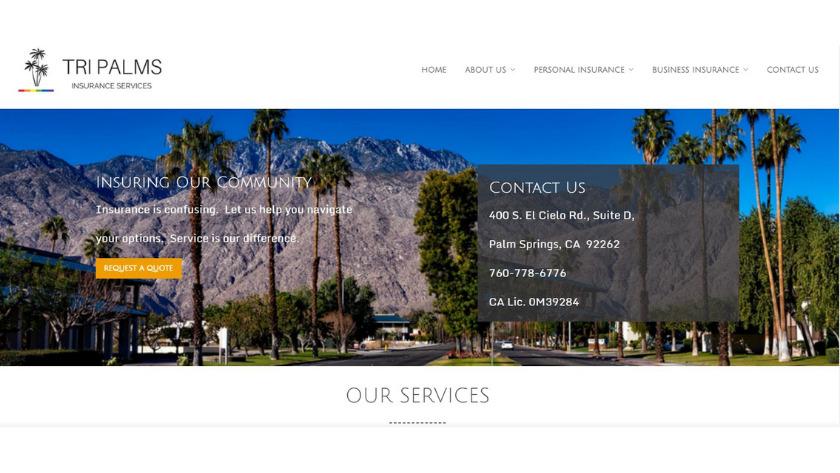 Tri Palms Insurance Services Palm Springs
